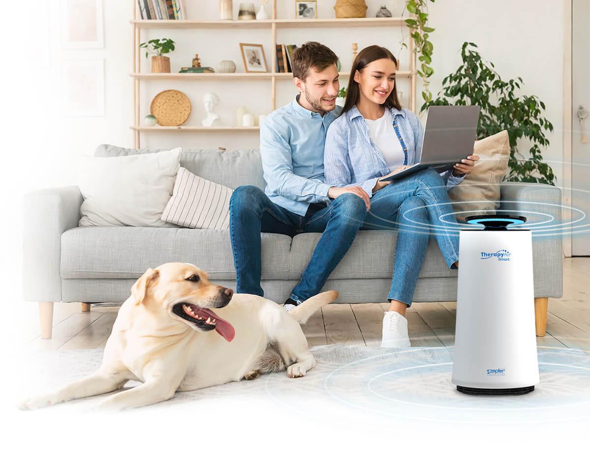 Prečišćivač zraka nove generacije Therapy Air Smart- homepage image